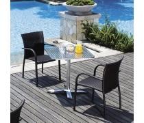 Комплект мебели из иск. ротанга LFT-3125A/Y282A-W52 Brown (2+1) (AM)