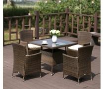 Комплект плетеной мебели AFM-410SL90x90 4Pcs (AM)