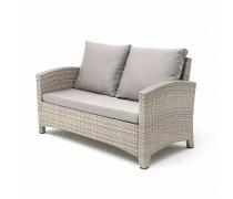 Плетеный диван S58B-W85 Latte (AM)