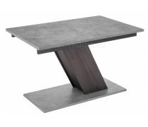 Стол на тумбе Тирион бетон чикаго серый / дуб гладстоун табак (LM)