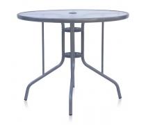 Стол D90 Silver metallic (AM)