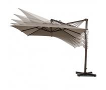 Зонт для кафе AFM-3x3-Beige (AM)
