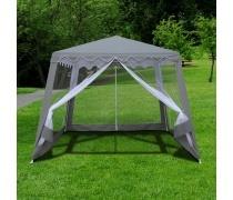Садовый шатер AFM-1036NB Grey (3x3/2.4x2.4) (AM)
