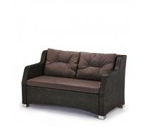 Плетеный диван S51A-W53 Brown (AM)