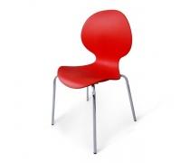 Стул пластиковый SHF-008-R Red (AM)