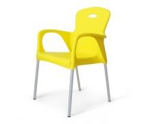 Стул пластиковый XRF-065-BY Yellow (AM)