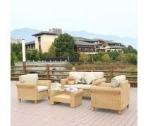Комплект мебели с диваном AFM-4018A Beige (AM)