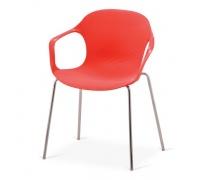 Стул пластиковый XRB-078-BR Red (AM)