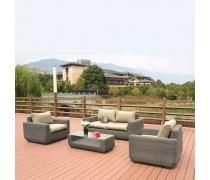 Комплект мебели с диваном AFM-4018B Grey (AM)