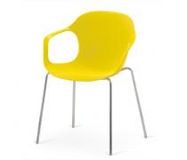 Стул пластиковый XRB-078-BY Yellow (AM)
