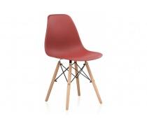 Пластиковый стул Eames PC-015 bordeaux