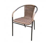 Плетеный стул Асоль TLH-037AR3 Cappuccino (AM)