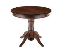 Деревянный стол Павия орех с коричневой патиной (LM)