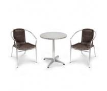 Комплект мебели LFT-3099B/T3127-D60 Brown (2+1) (AM)