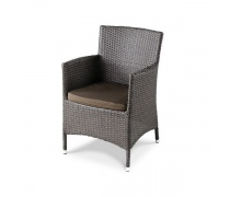 Плетеное кресло Y189B Brown (AM)