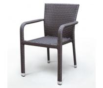 Плетеный стул A2001B-AD69 Brown (AM)