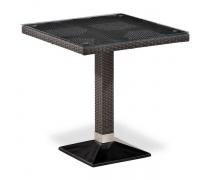 Плетеный стол T505SWT-W2390-70х70 Brown  (AM)