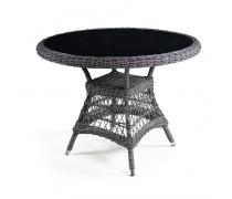 Плетеный стол T306-D105 Light brown (AM)