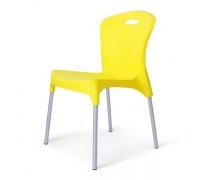 Стул пластиковый XRF-065-AY Yellow (AM)