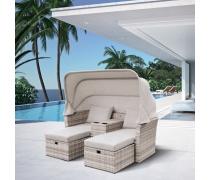 Комплект плетеной мебели AFM-330G Grey (AM)