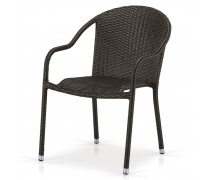 Плетеное кресло AFM-318A-Brown (AM)