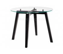 Стеклянный стол Ларс венге (LM)