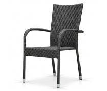 Плетеный стул AFM-407G grey (AM)