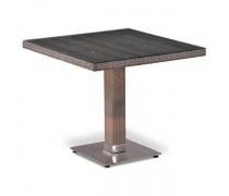 Плетеный стол T503SG-W1289-80х80 Pale  (AM)