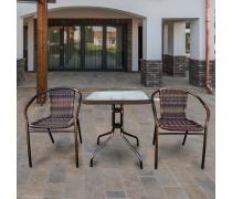 Комплект мебели для кафе Asol-2B (TLH-037В / 073В-60)(AM)