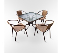 Комплект мебели мебели Nicole-2А (TLH-037A/073A-80)(AM)