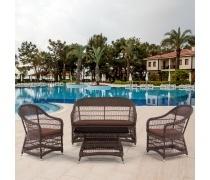 Комплект мебели для террасы (Y-306-2/Y-306/ST306)(AM)