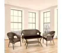 Комплект мебели для террасы Avanti (Y-97B-2/ Y-97BP/ T270B)(AM)