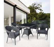 Комплект мебели из иск. ротанга Avanti (Black) (T190A-2/Y-97A Black)(AM)
