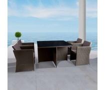Комплект мебели из искусственного ротанга (T300A/Y300)(AM)