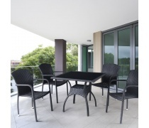 Комплект мебели из иск. ротанга Richi-2 (T247A-2/Y-95D)(AM)
