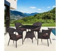 Комплект мебели из иск. ротанга Avanti (Brown) (T190B-2/Y-97B)(AM)