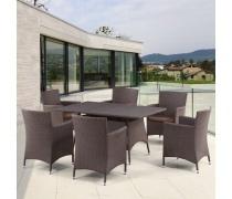 Комплект мебели из иск. ротанга Delon (T278A/Y-189В)(AM)