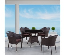 Комплект мебели из иск. ротанга Napoli-1 (T190B-1/Y-197B)(AM)