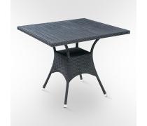 Стол искусственный ротанг 87х87см. (T-97B)(AM)