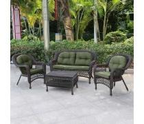 Плетеный комплект мебели из искусственного ротанга (LV520А)(AM)