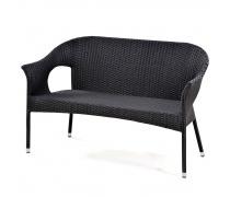 Плетеный диван из искусственного ротанга (Y-97А-2)(AM)