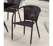 Плетёное кресло из искусственного ротанга (Y-137B)(AM)