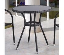 Плетёный стол из искусственного ротанга (D72) (T-282ANS (W51))(AM)