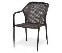 Плетёный стул из искусственного ротанга (Y35B)(AM)