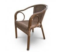 Плетёный стул из искусственного ротанга (A-2010A)(AM)