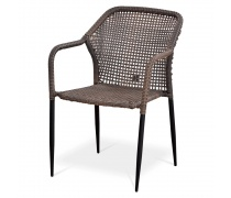 Плетёный стул из искусственного ротанга (Y35G)(AM)