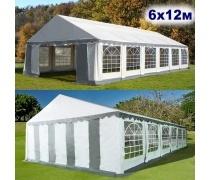 Шатёр Павильон 6x12м. Ткань PVC/500gr. (AFM - 15612B)(AM)