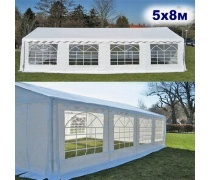 Шатёр Павильон 5x8м. Ткань PVC/500gr. (AFM - 1558)(AM)