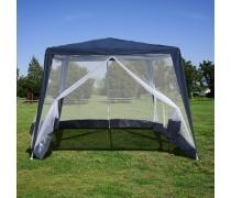 Садовый шатер с москитной сеткой 3x3x2.4m. (AFM-1035NB Blue)(AM)