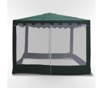Садовый шатер с москитной сеткой-3x3m. (WS-G05/A Green)(AM)